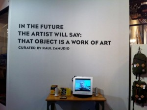 »In the future the artist will say: that object is a work of art« (Foto vse: Jiri Kočica)